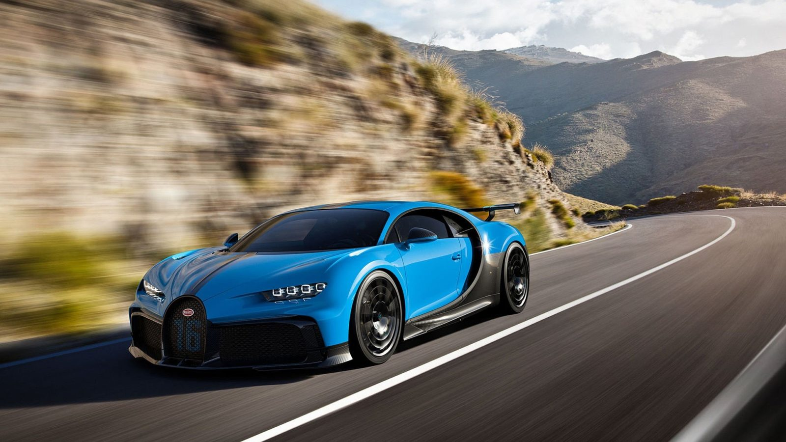 Bugatti's sleek new Chiron Pur Sport is made for curving country roads