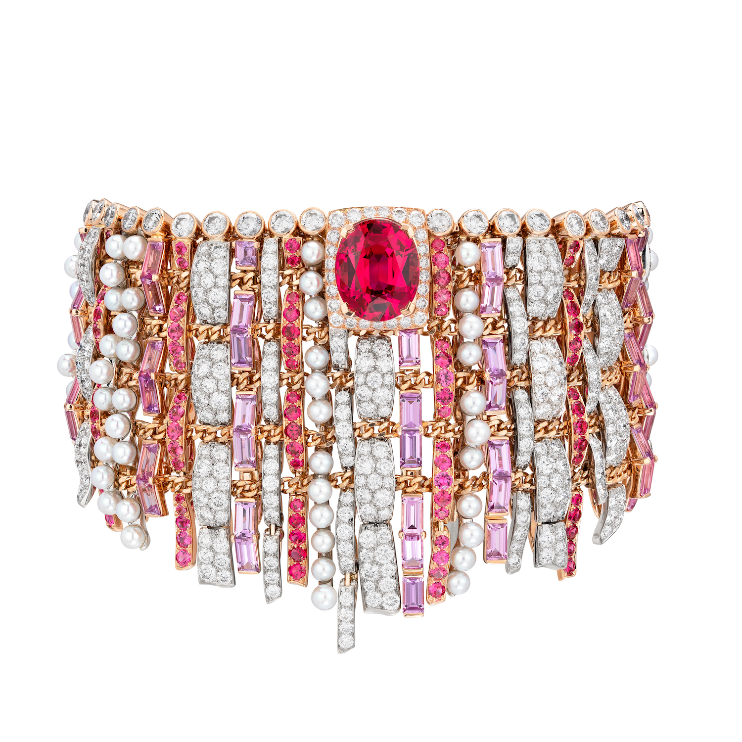 Tweed Couture Bracelet (Photo credit: Chanel)
