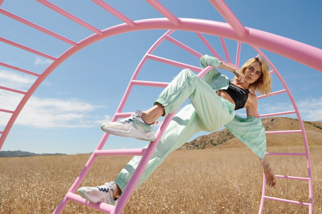 Puma launches the Rise, a stylish new sneaker for women