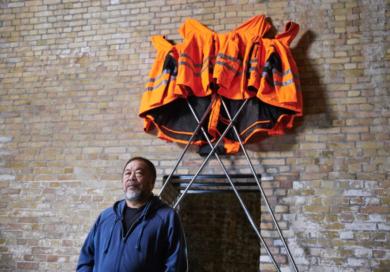 Ai Weiwei collaborates with Hornbach to create a new soft sculpture