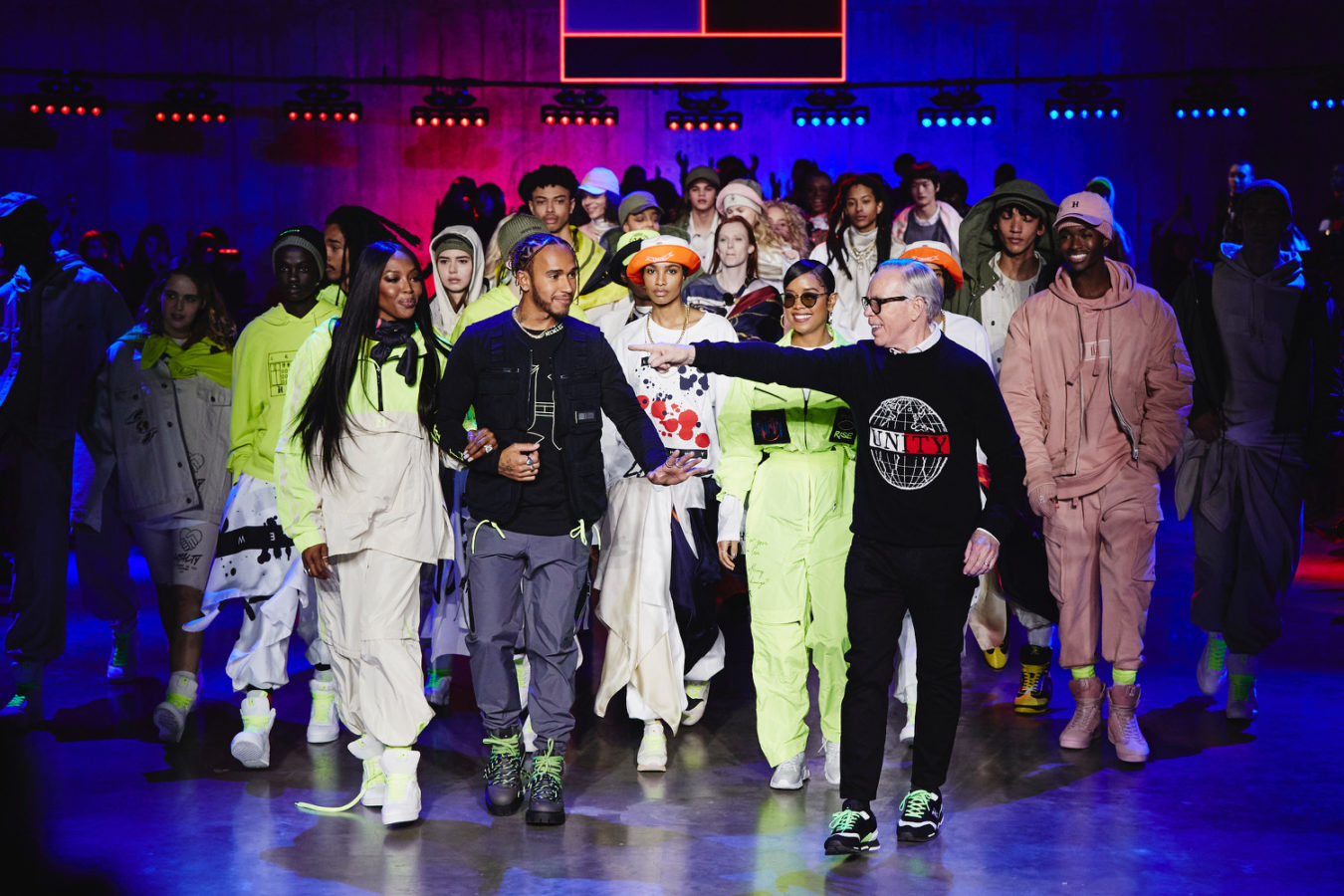 Tommy Hilfiger and Lewis Hamilton champions sustainability at LFW