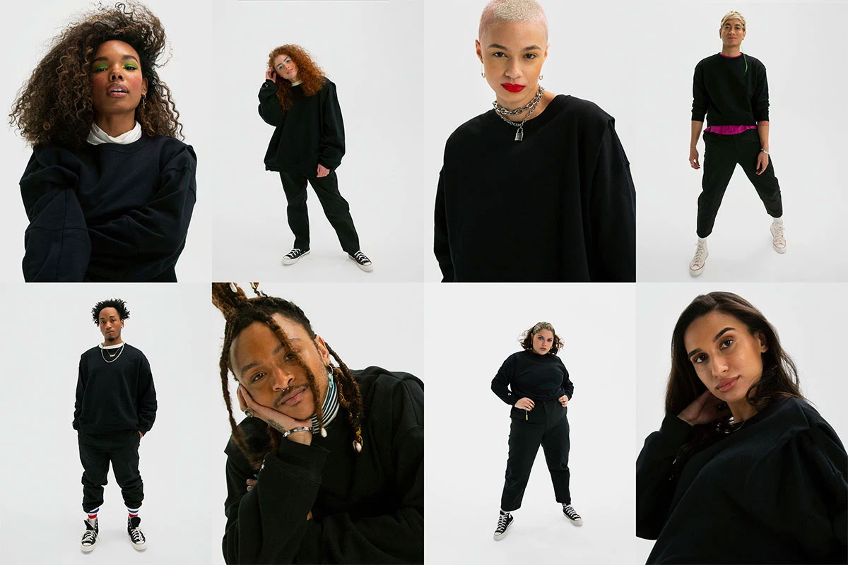 Converse launches Shapes, a genderless clothing collection