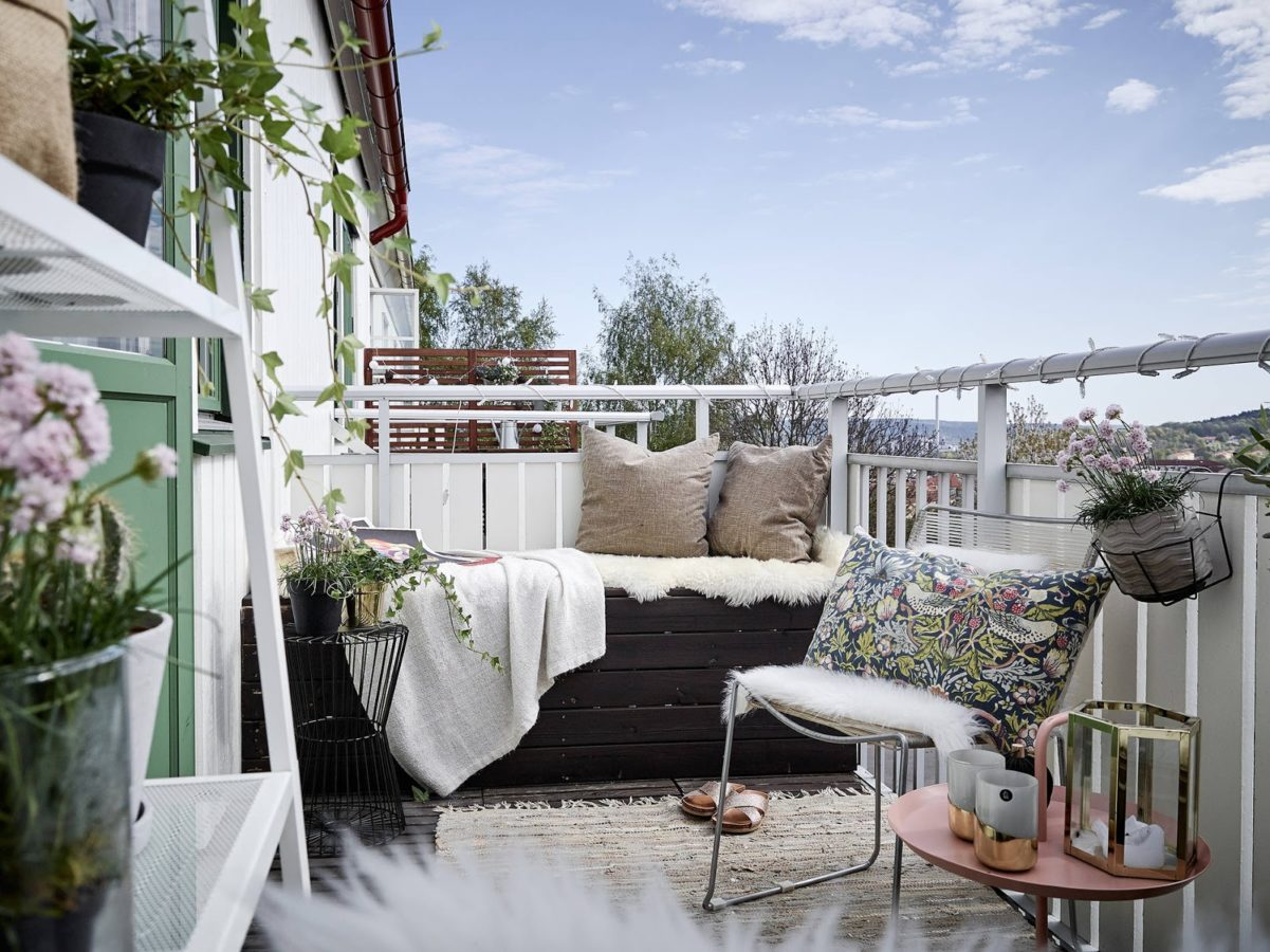 Need an outdoor respite? Look to your balcony