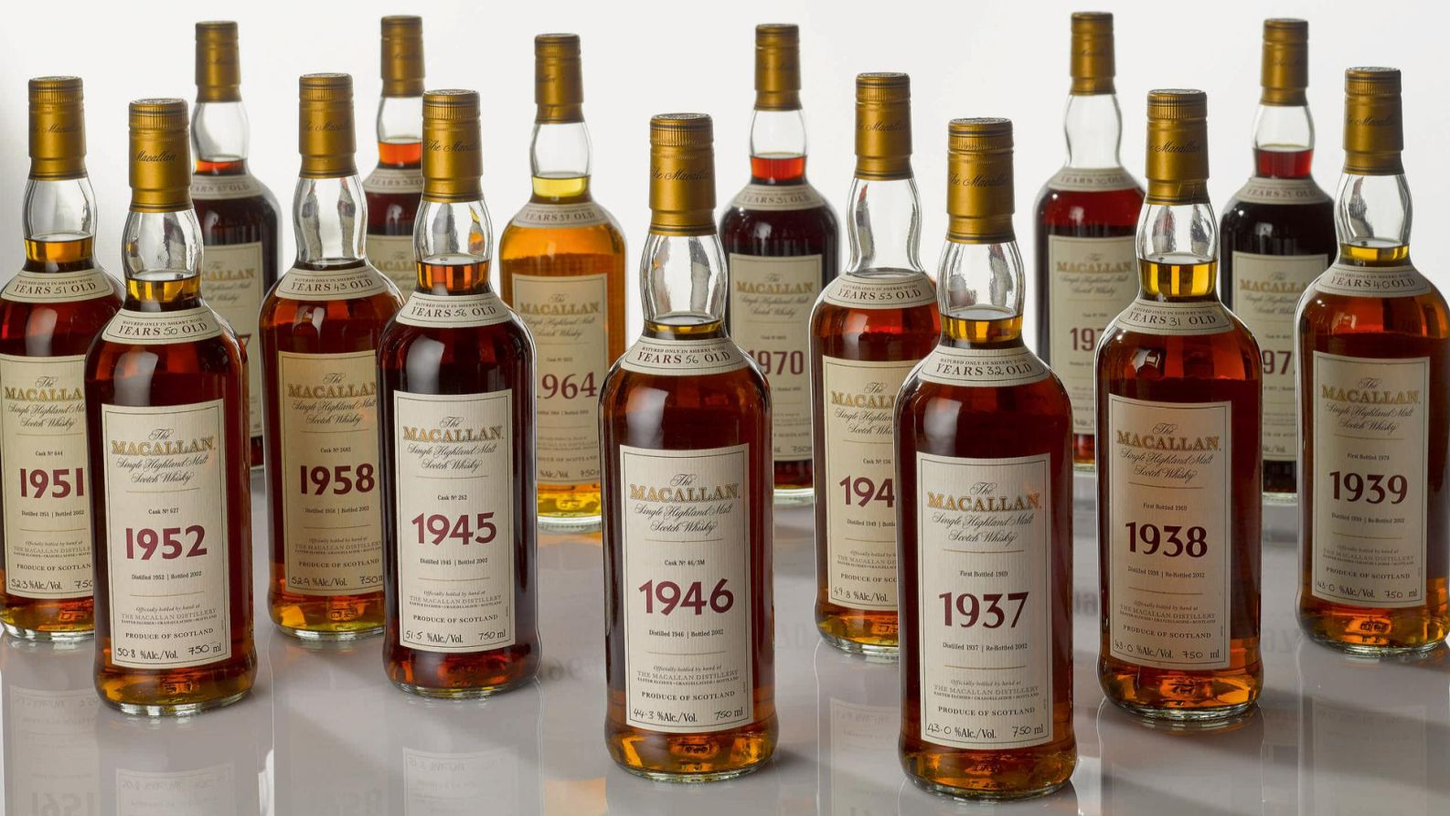 Sotheby's is auctioning the legendary Macallan 1945 online this spring