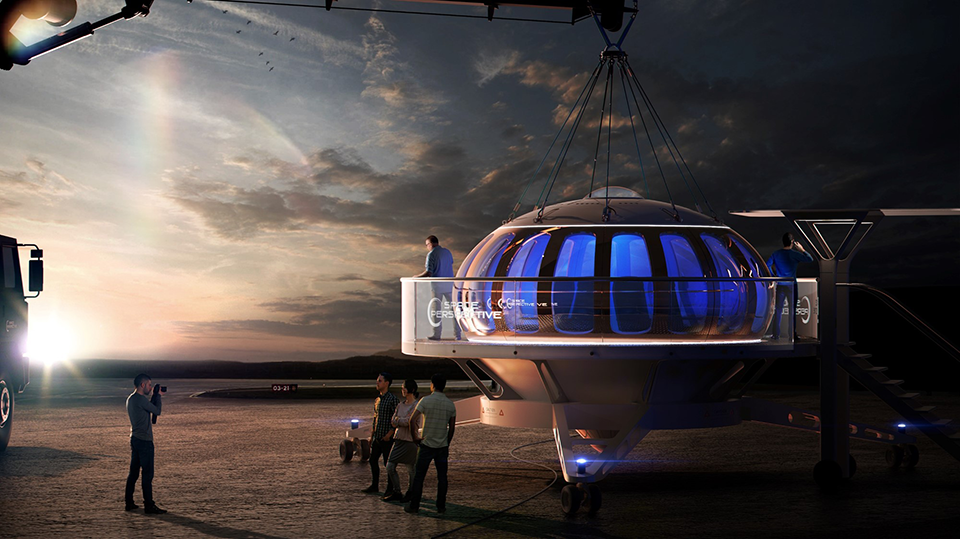 Space Perspective wants to take you on a ride through the stratosphere