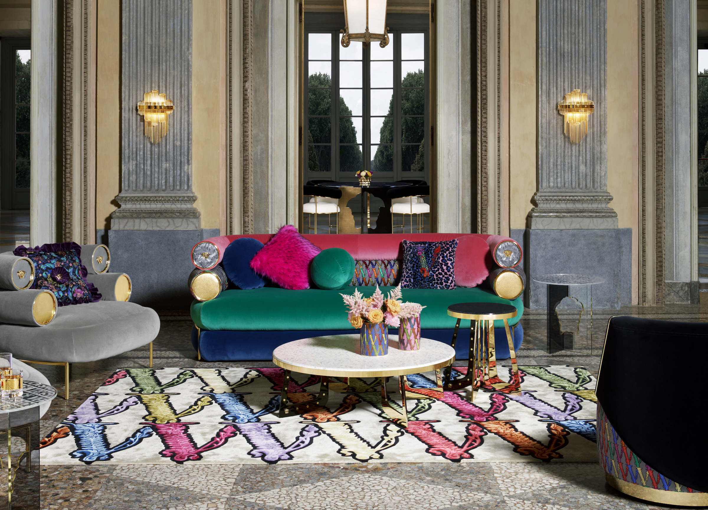 Versace S Home Collection 2020 Captures The Essence Of Luxury Living
