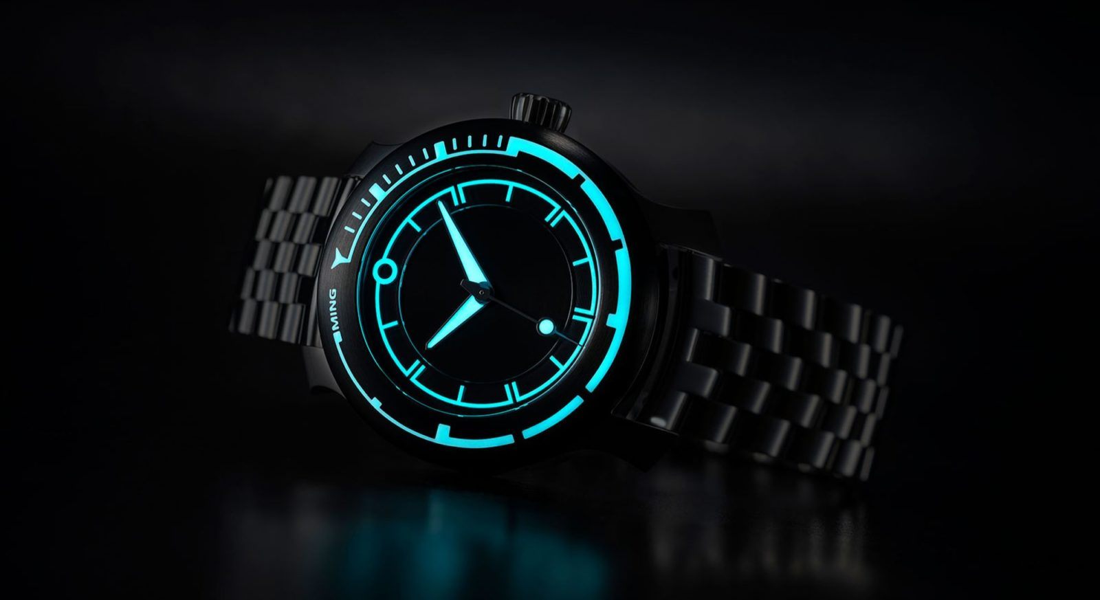 Ming launches a new timepiece, the Diver 18.01 H41