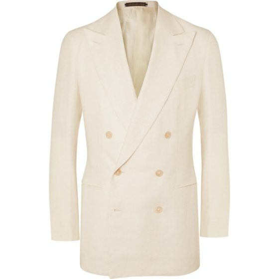 Saman Amel unstructured double-breasted blazer
