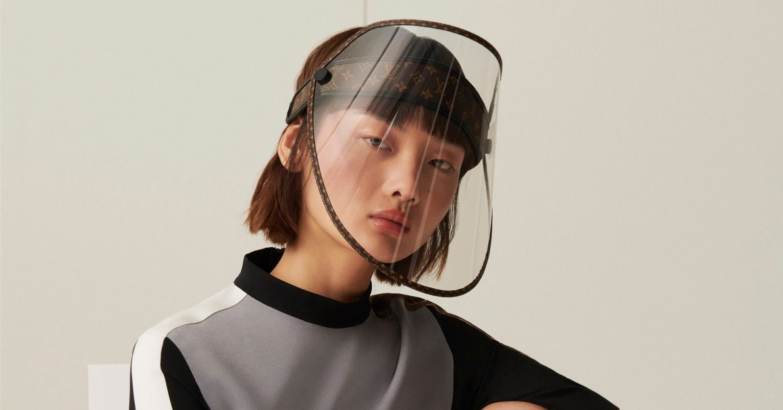 Louis Vuitton is dropping a new luxury accessory — the face shield