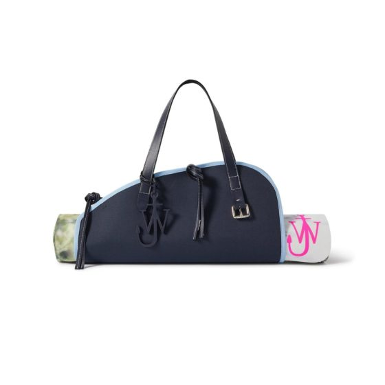JW Anderson's yoga mat and carrying case