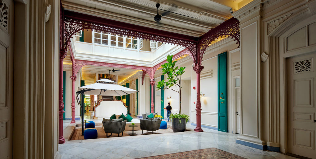 The Edison Hotel George Town Penang Courtyard