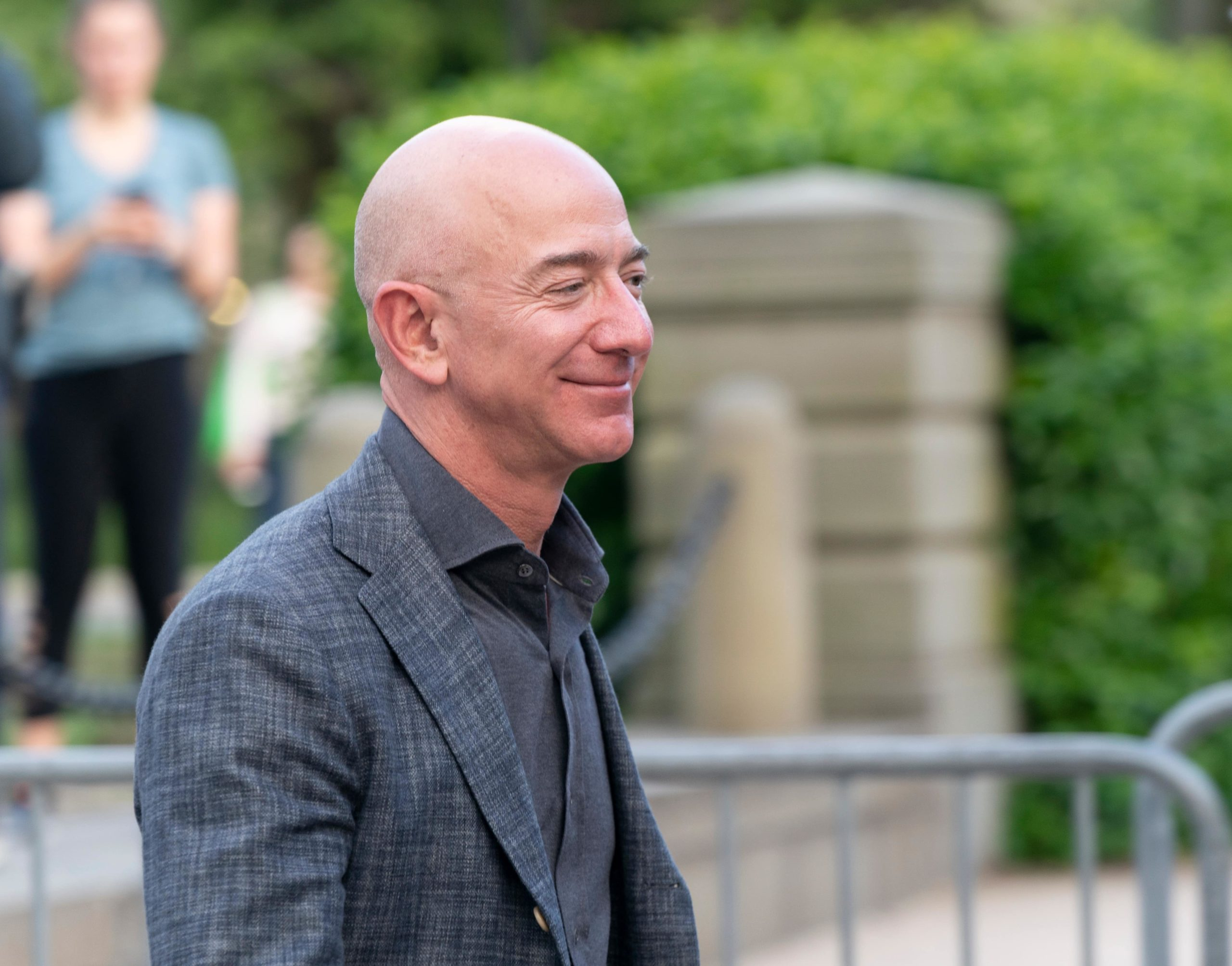Jeff Bezos is among the richest people