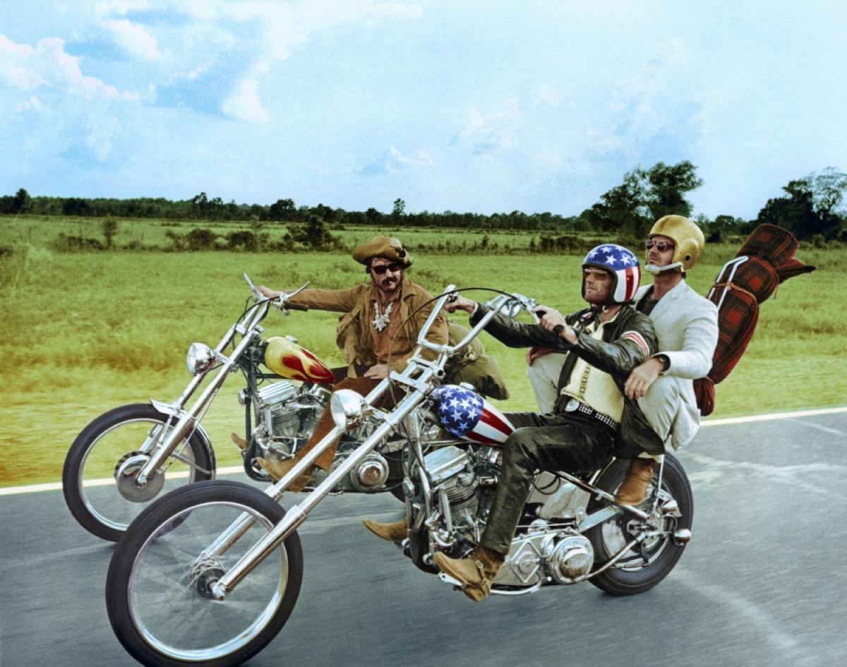 Easy Rider Captain America chopper