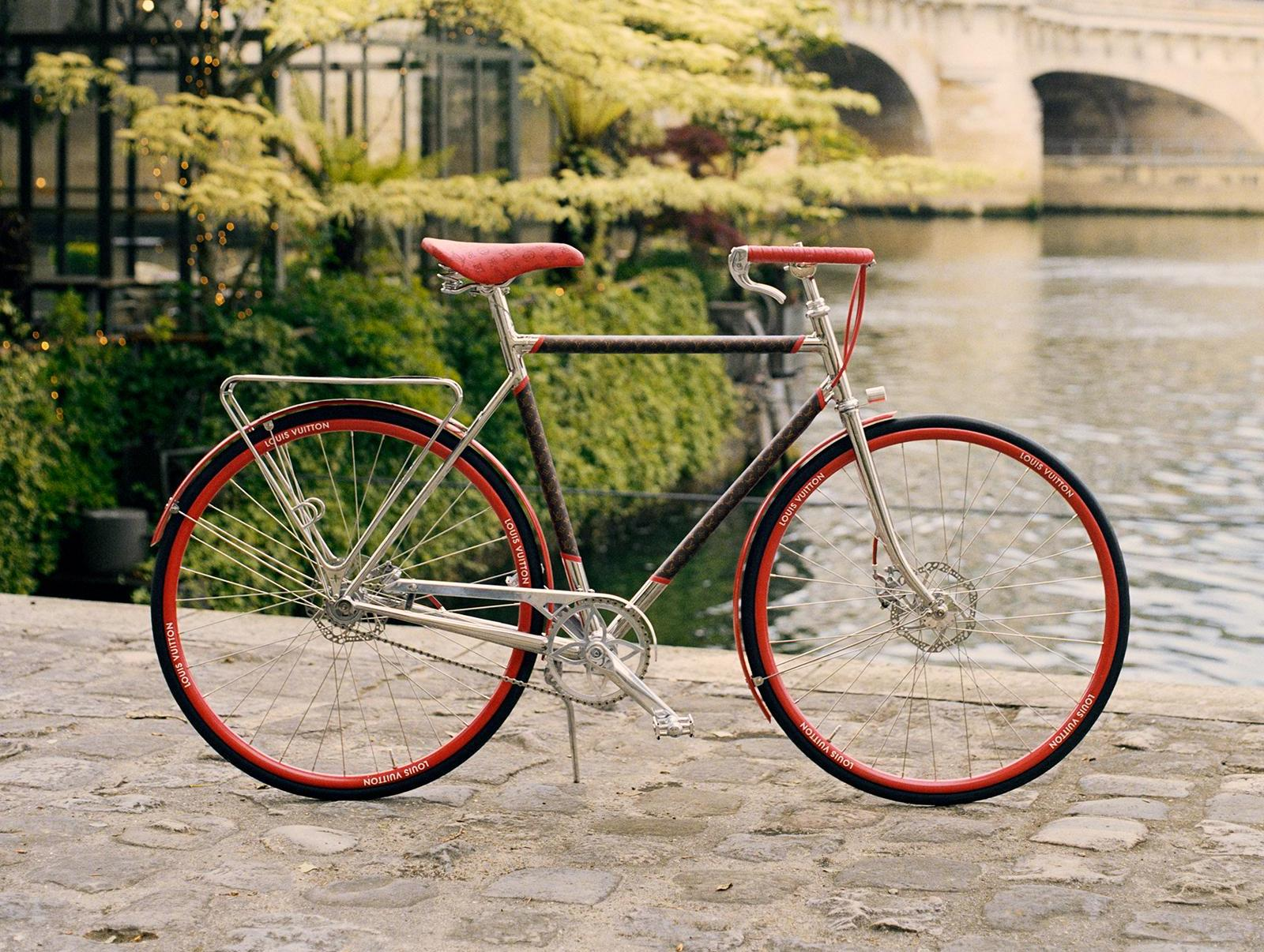 We're adding Louis Vuitton's monogrammed bicycles to our wishlist