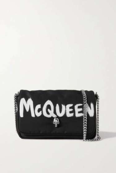 Alexander McQueen 'Graffiti' Shoulder Bag