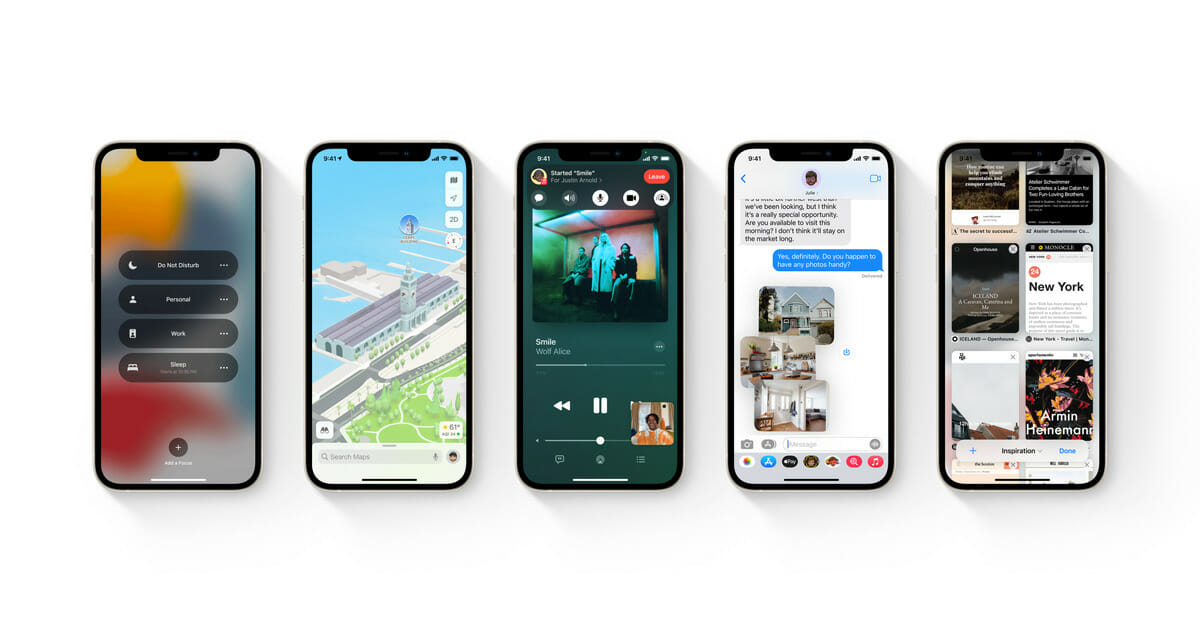 8 new features we are most excited about from Apple's iOS 15 update