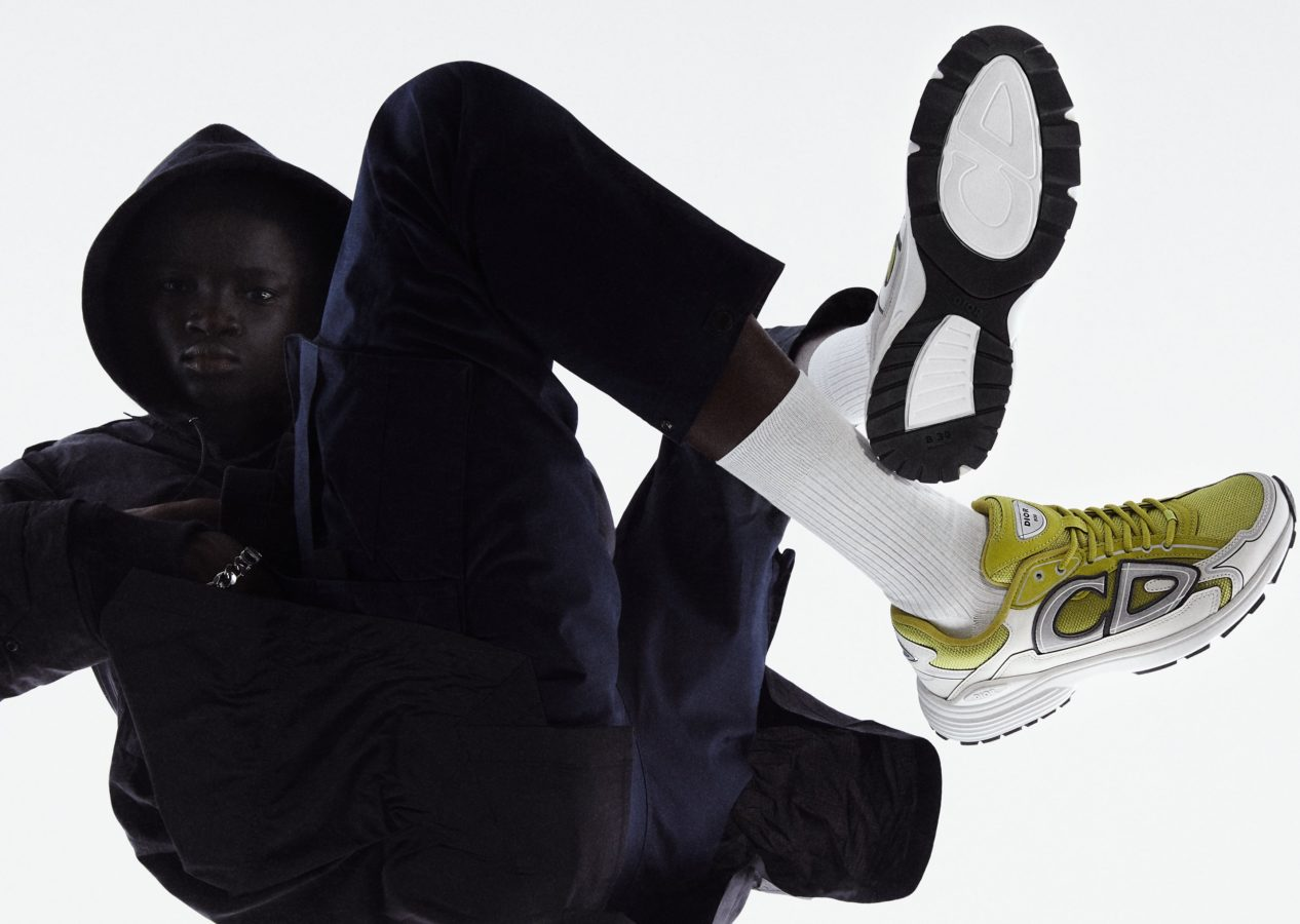 Dior B30 Sneakers go aerodynamic with a sporty redesign for Spring 2022