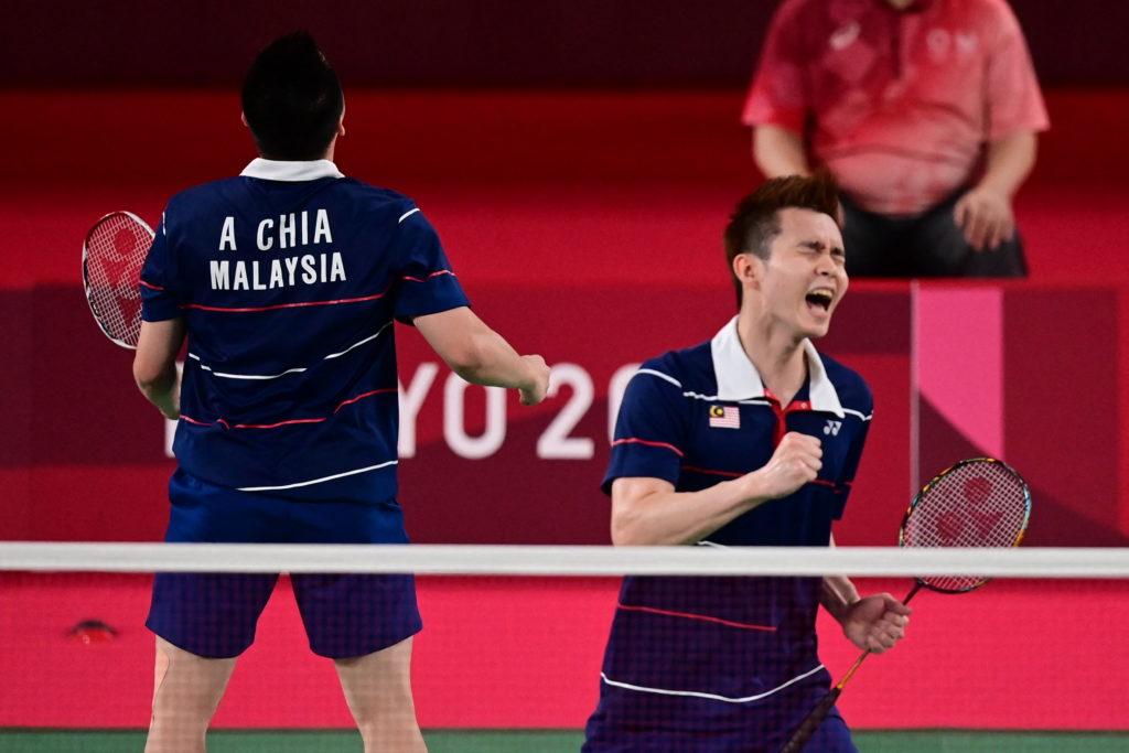 How are Malaysian badminton players performing at the 2021 French Open?