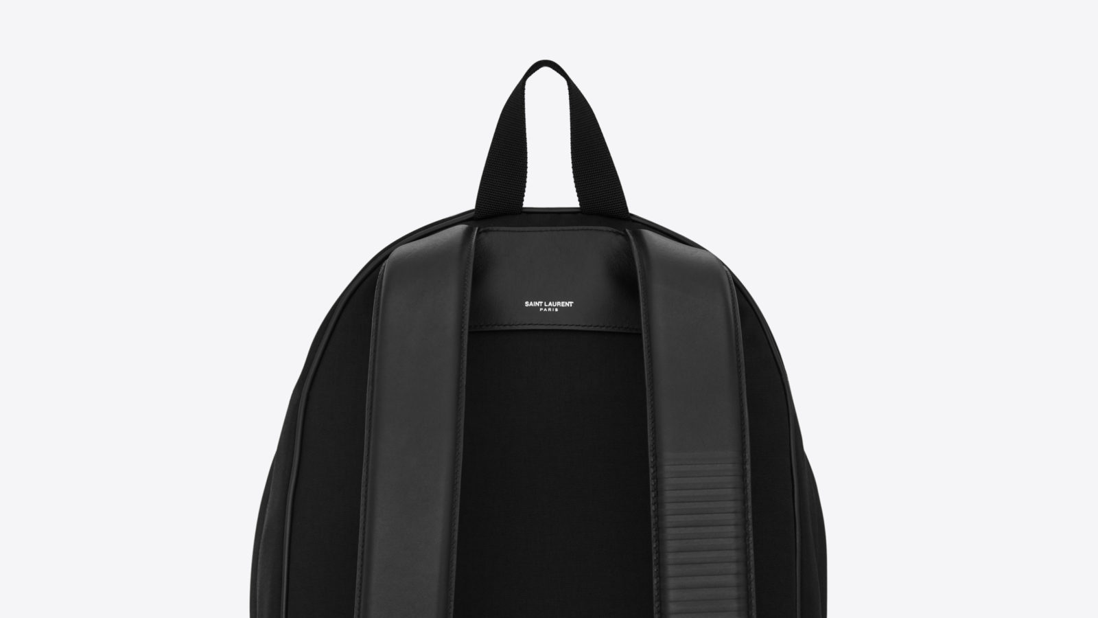 The Saint Laurent x Google smart backpack has arrived in Singapore
