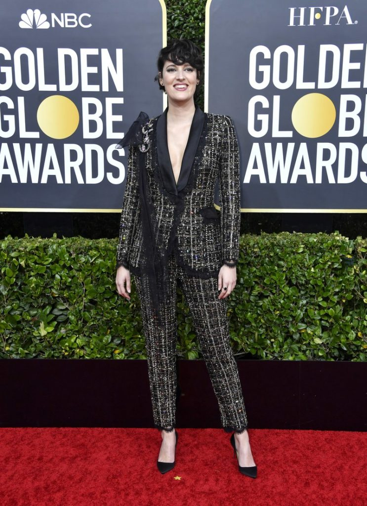 Phoebe Waller-Bridge in Ralph & Russo at the Golden Globes 2020