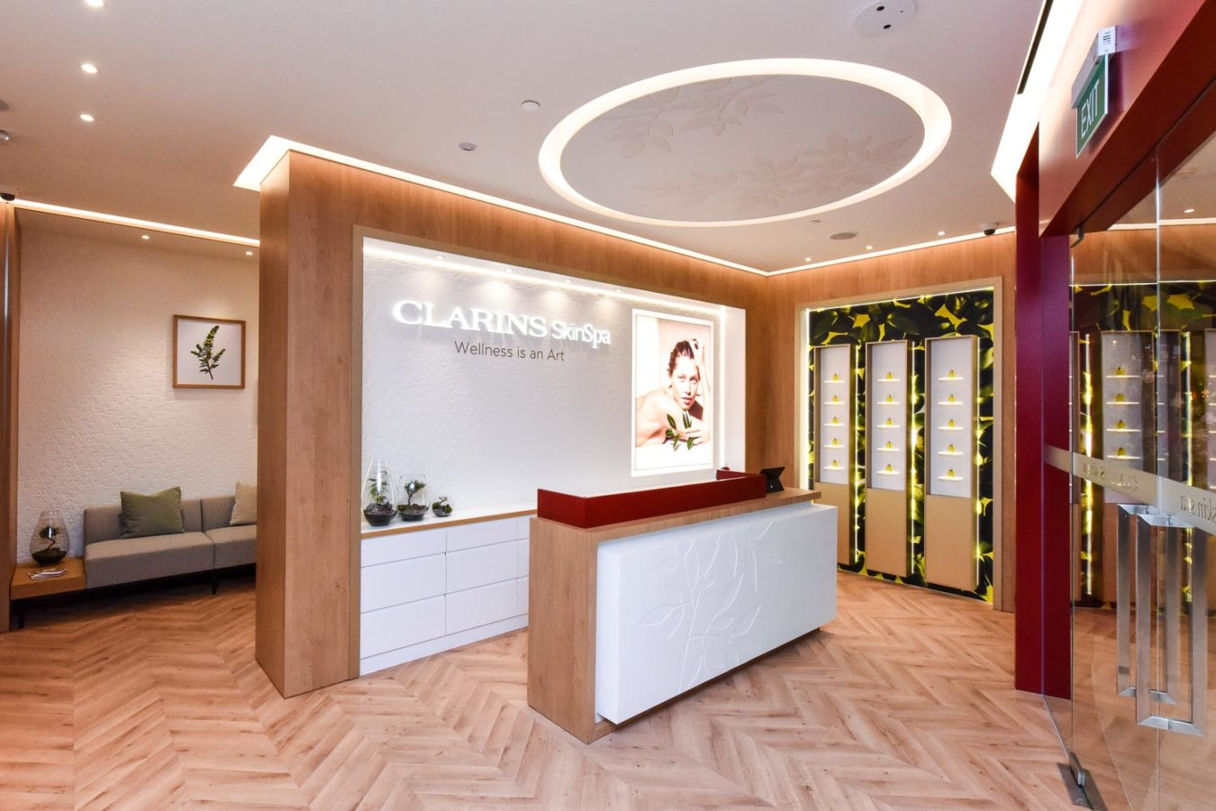 Clarins re-opens its specialised Skin Spa in ION Orchard