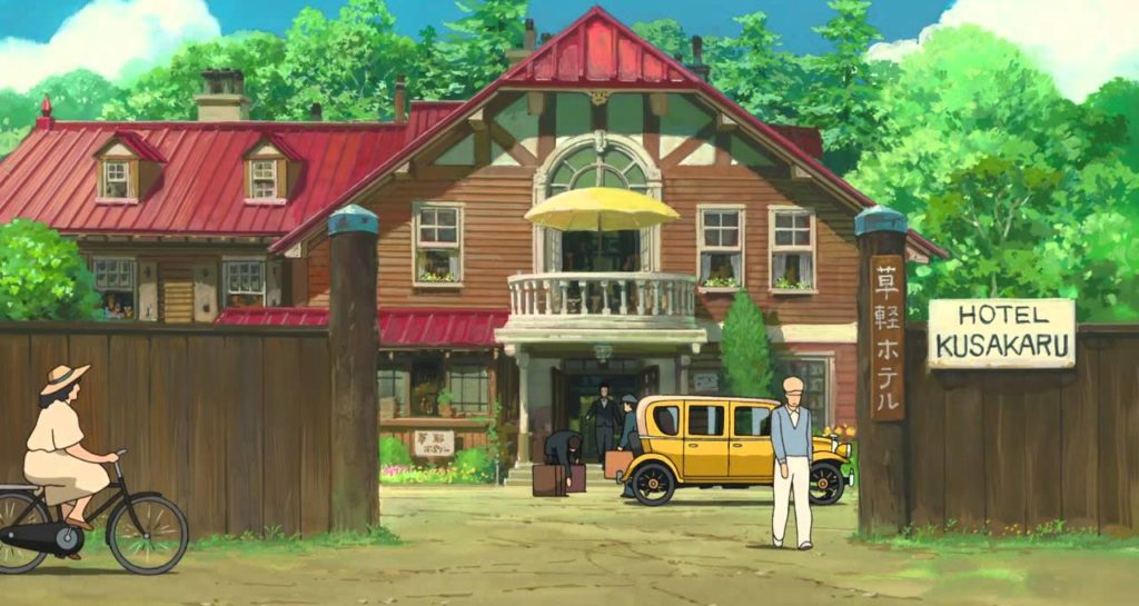 Studio Ghibli real life locations