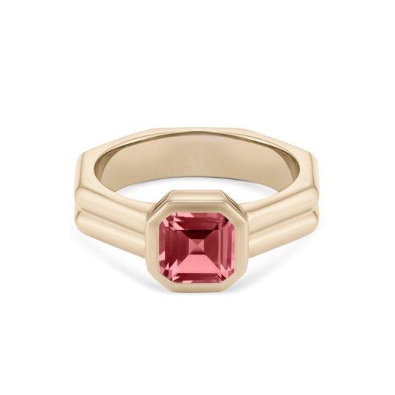 RRH Jewellery 'The Lorde' yellow gold tourmaline ring