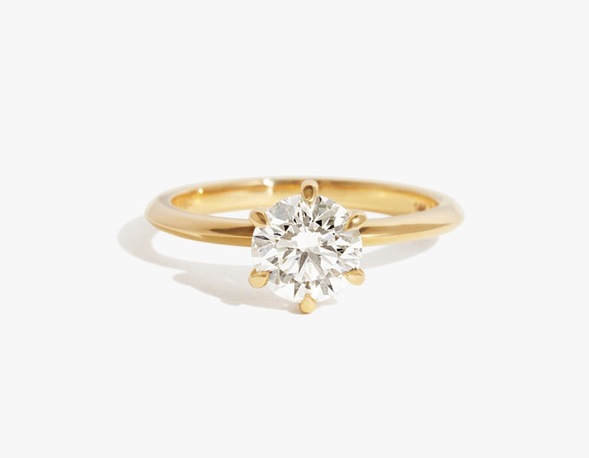 The Knife-Edge engagement ring, Vrai (Photo credit: Vrai)
