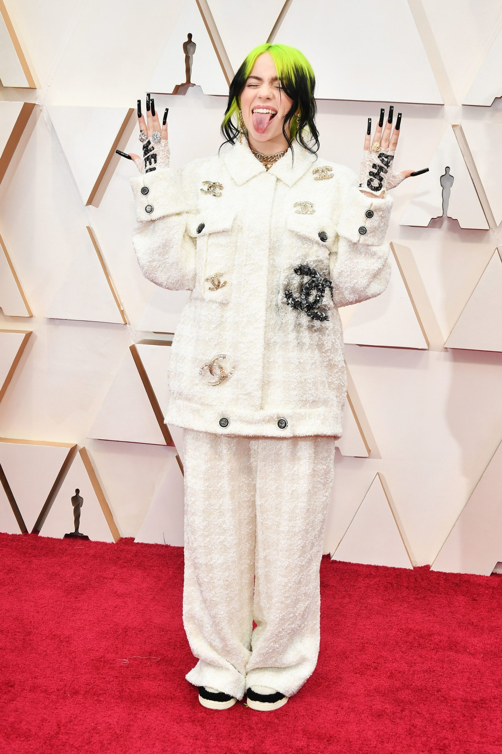 Billie Eilish in Chanel (Photo credit: Getty Images)