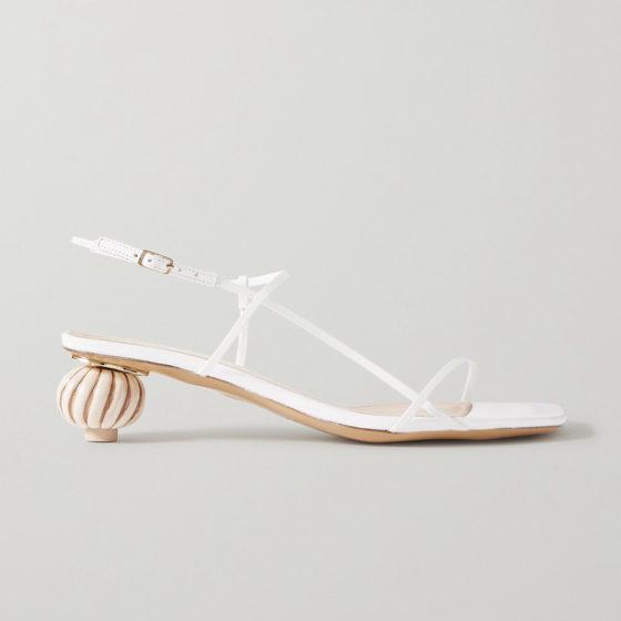 Jacquemus Manosque leather sandals