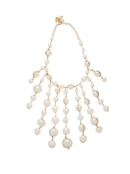 Rosantica epica faux-pearl necklace