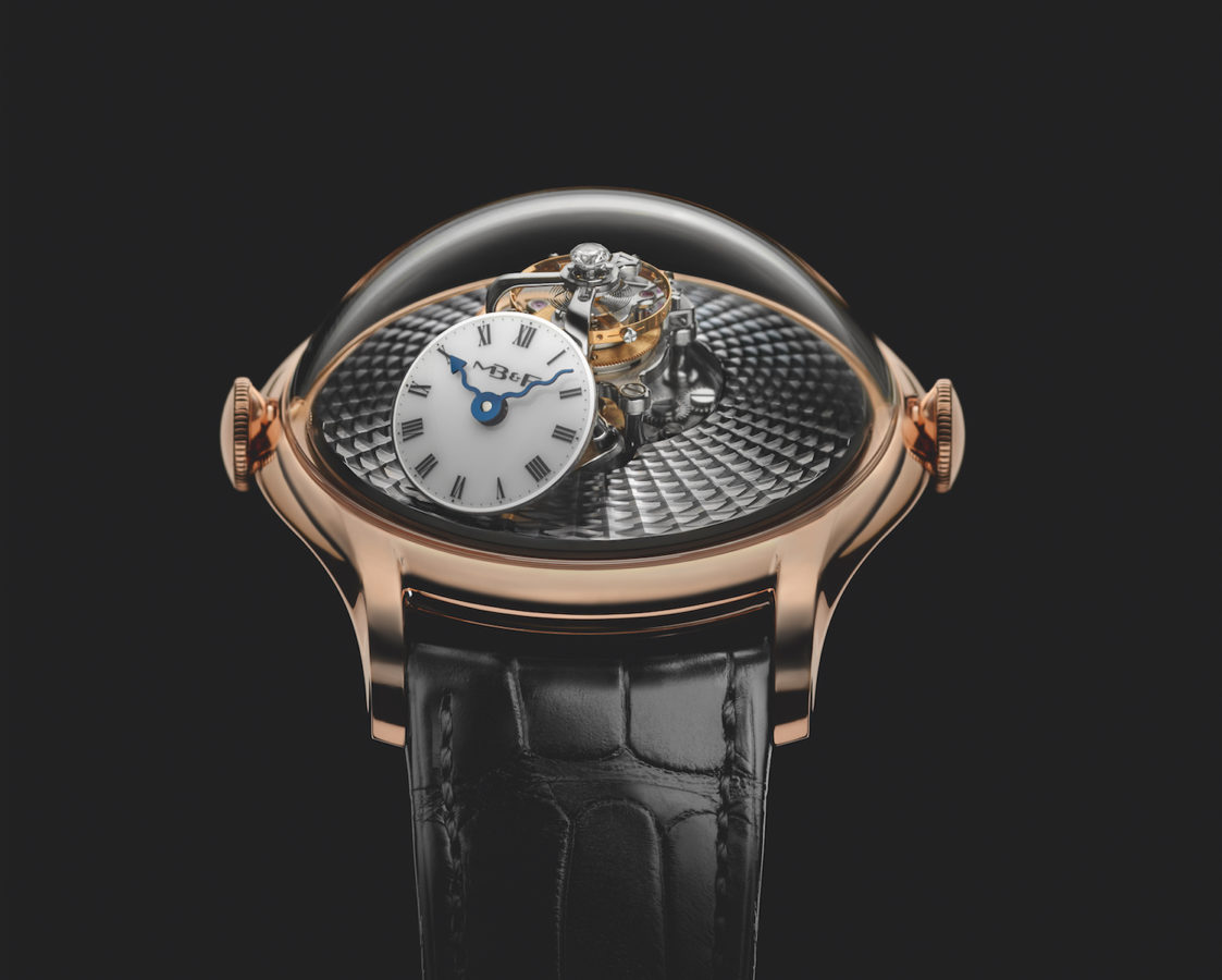 MB&F's best-selling model now comes in two new versions — without diamonds