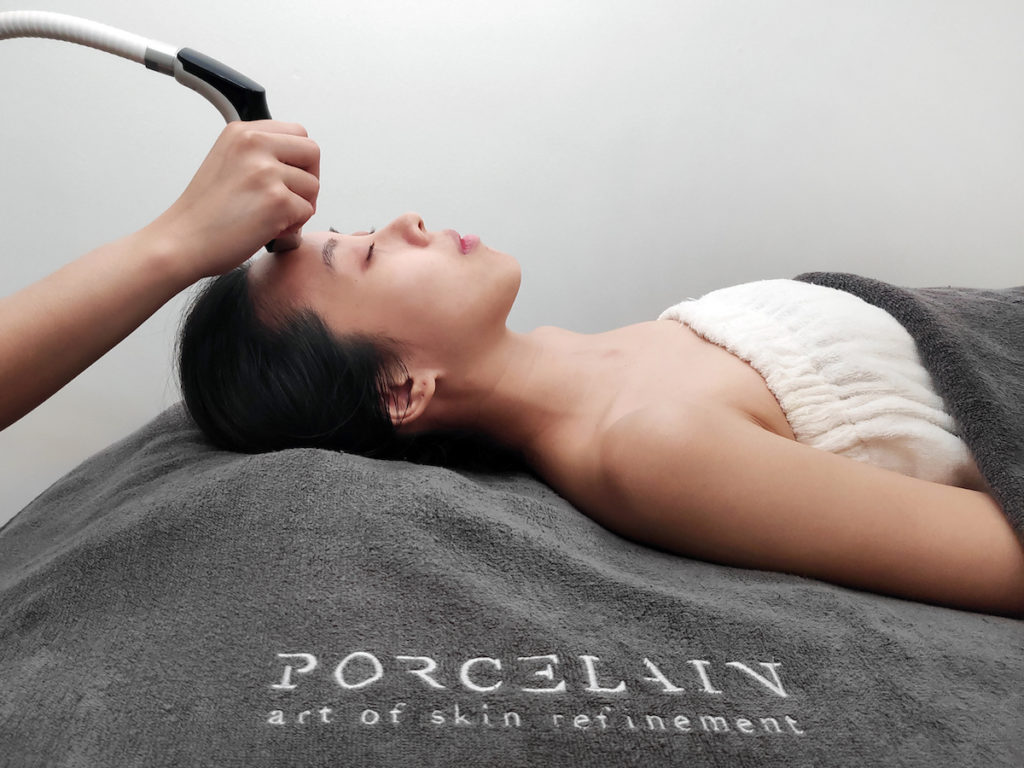 This customised facial treatment by Porcelain solves all your