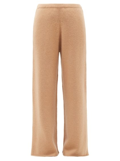 Raey wide-leg knitted cashmere trousers, (S$775)