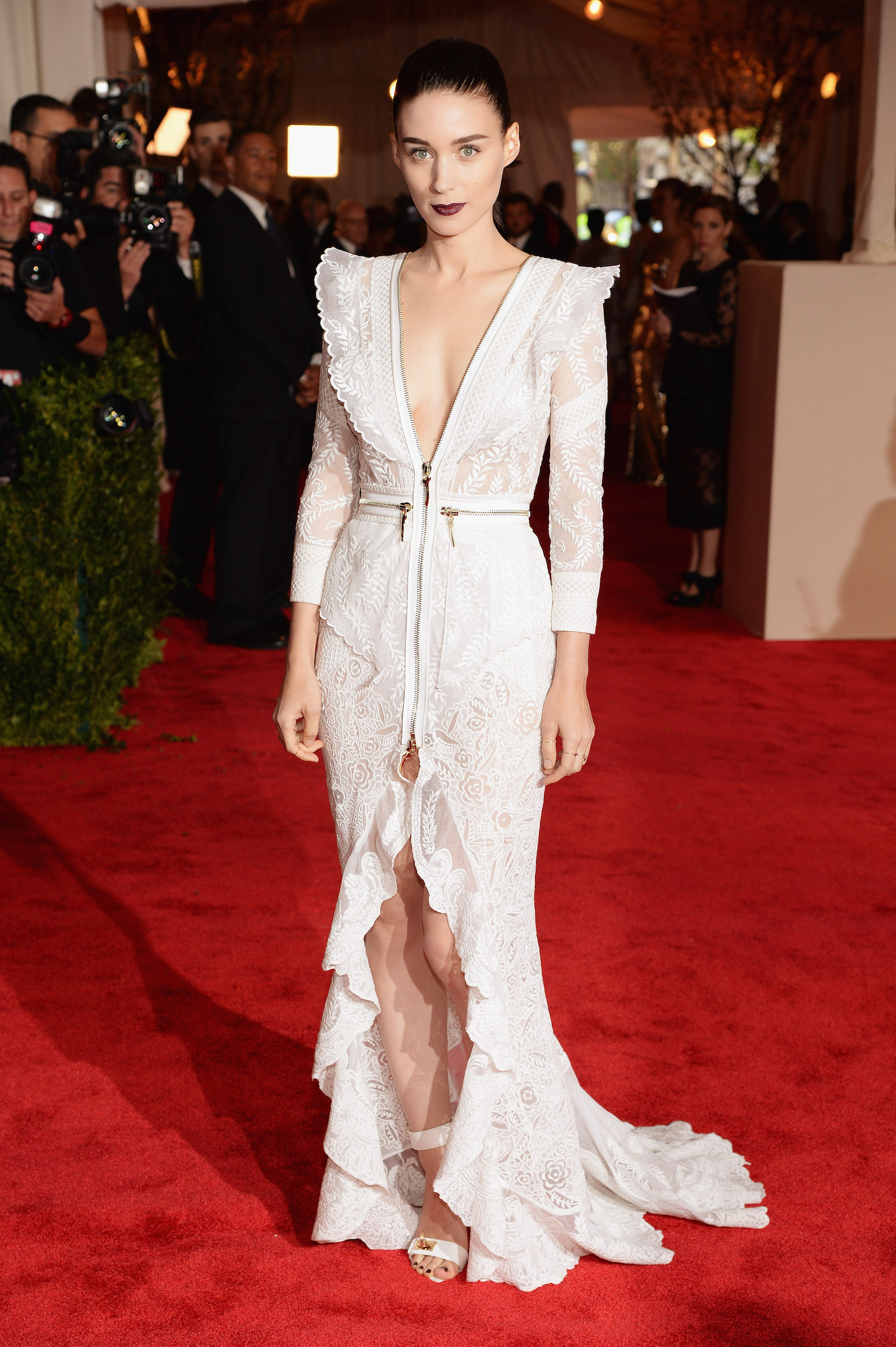 Rooney Mara in Givenchy Haute Couture by Riccardo Tisci (Photo credit: Getty Images)