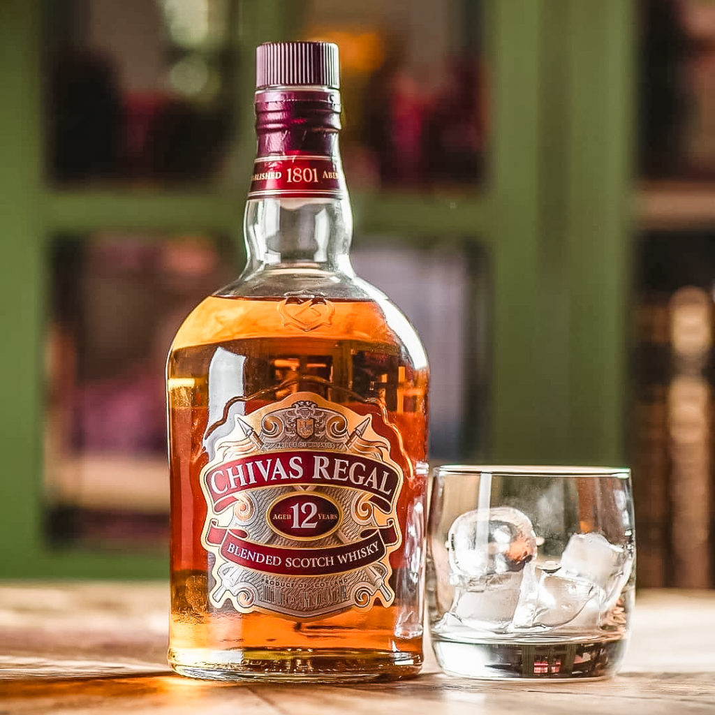 Chivas Regal 12 blend your own whisky