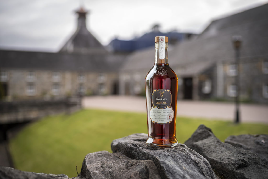 Glenfiddich spirit of speyside auction