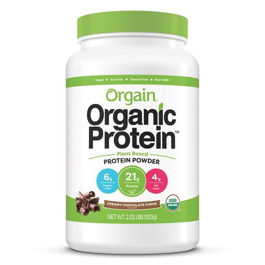 Orgain Organic Protein Plant-based Protein Powder