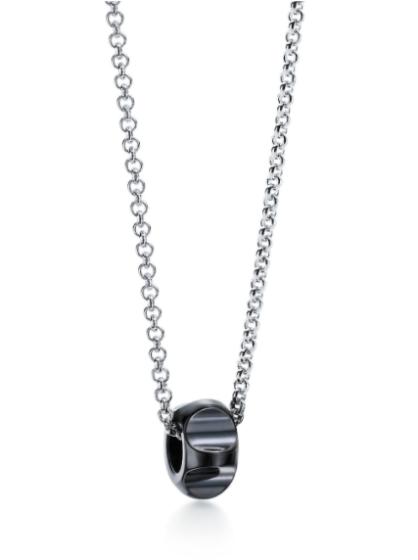 Tiffany & Co. bead pendant necklace