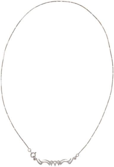 Alan Crocetti silver tribal necklace