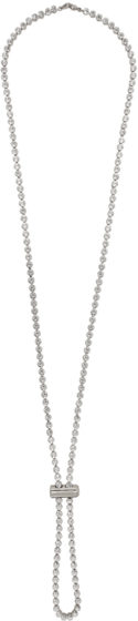 Jacquemus crystal necklace