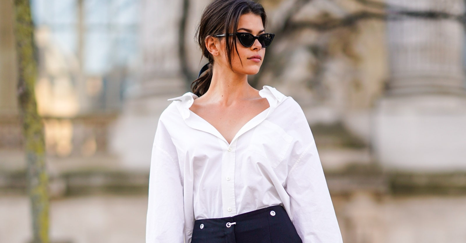 8 white shirts that prove the wardrobe staple can be a statement piece