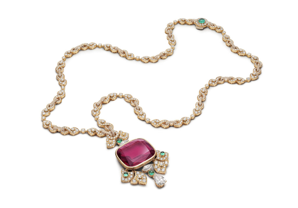 Rosso Caravaggio necklace (Photo credit: Bulgari)