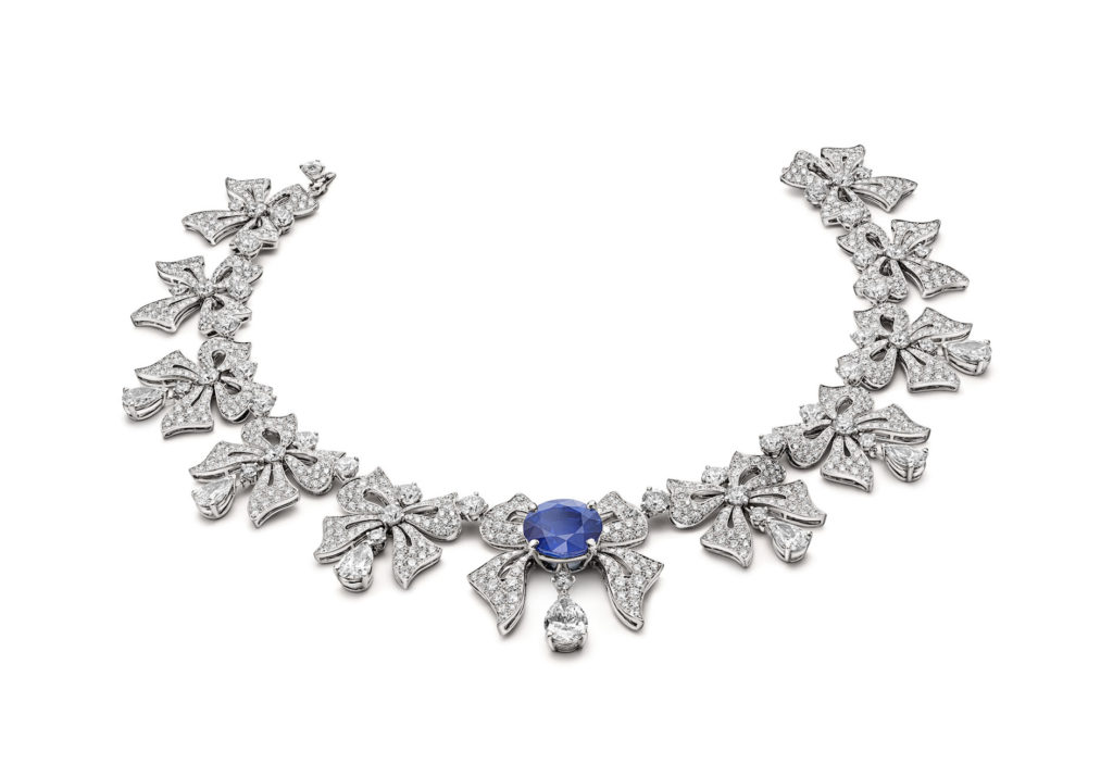 Sapphire Bow necklace (Photo credit: Bulgari)