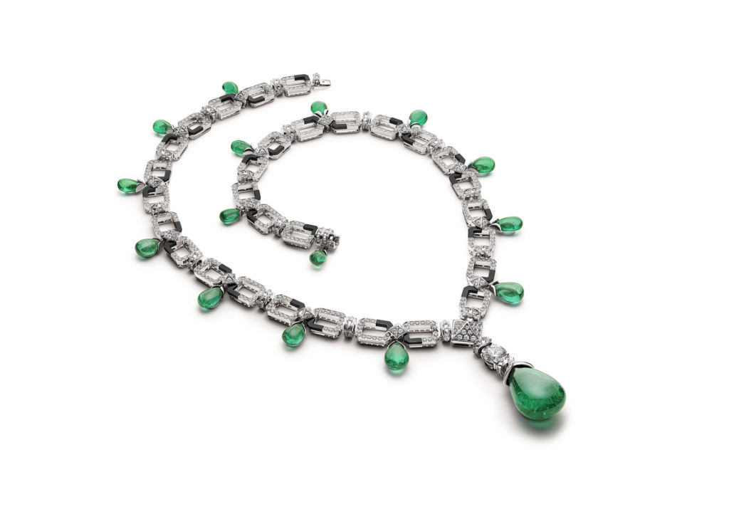 Rockinge Emerald necklace (Photo credit: Bulgari)