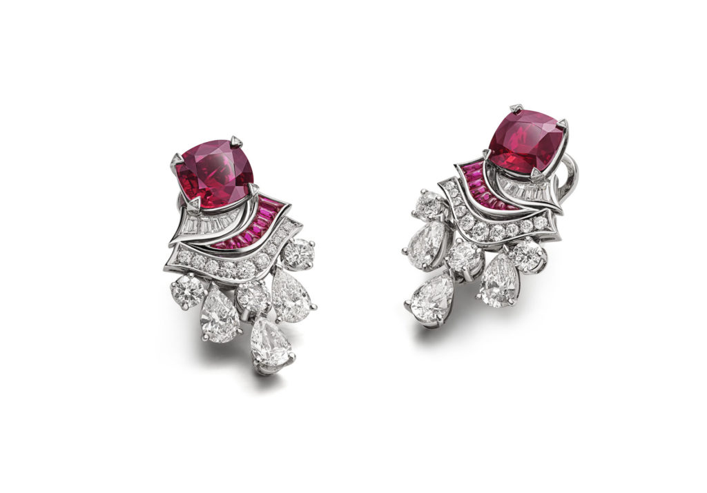 Ruby Drapery earrings (Photo credit: Bulgari)