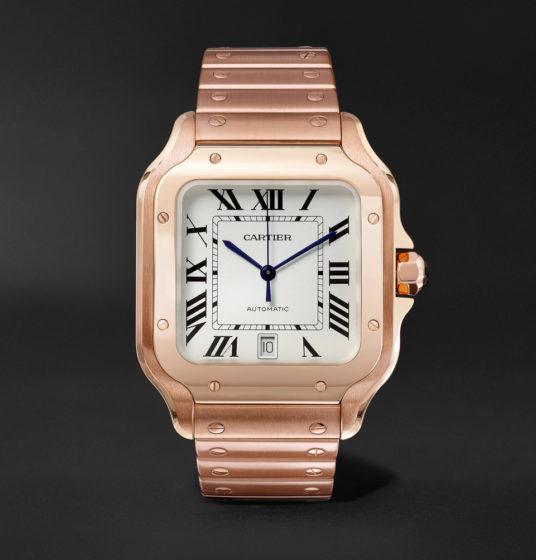 Santos de Cartier Automatic in 18K Pink Gold