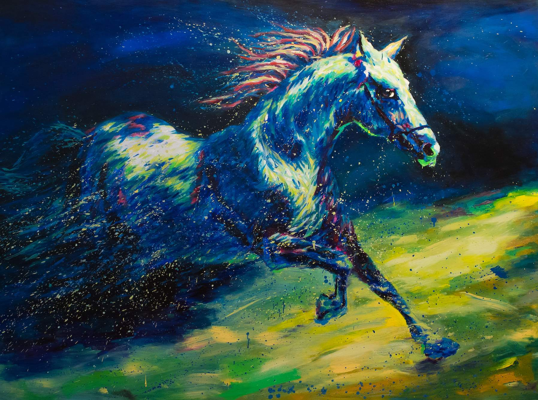 """Galloping Horse"" by Ma Dongmin"