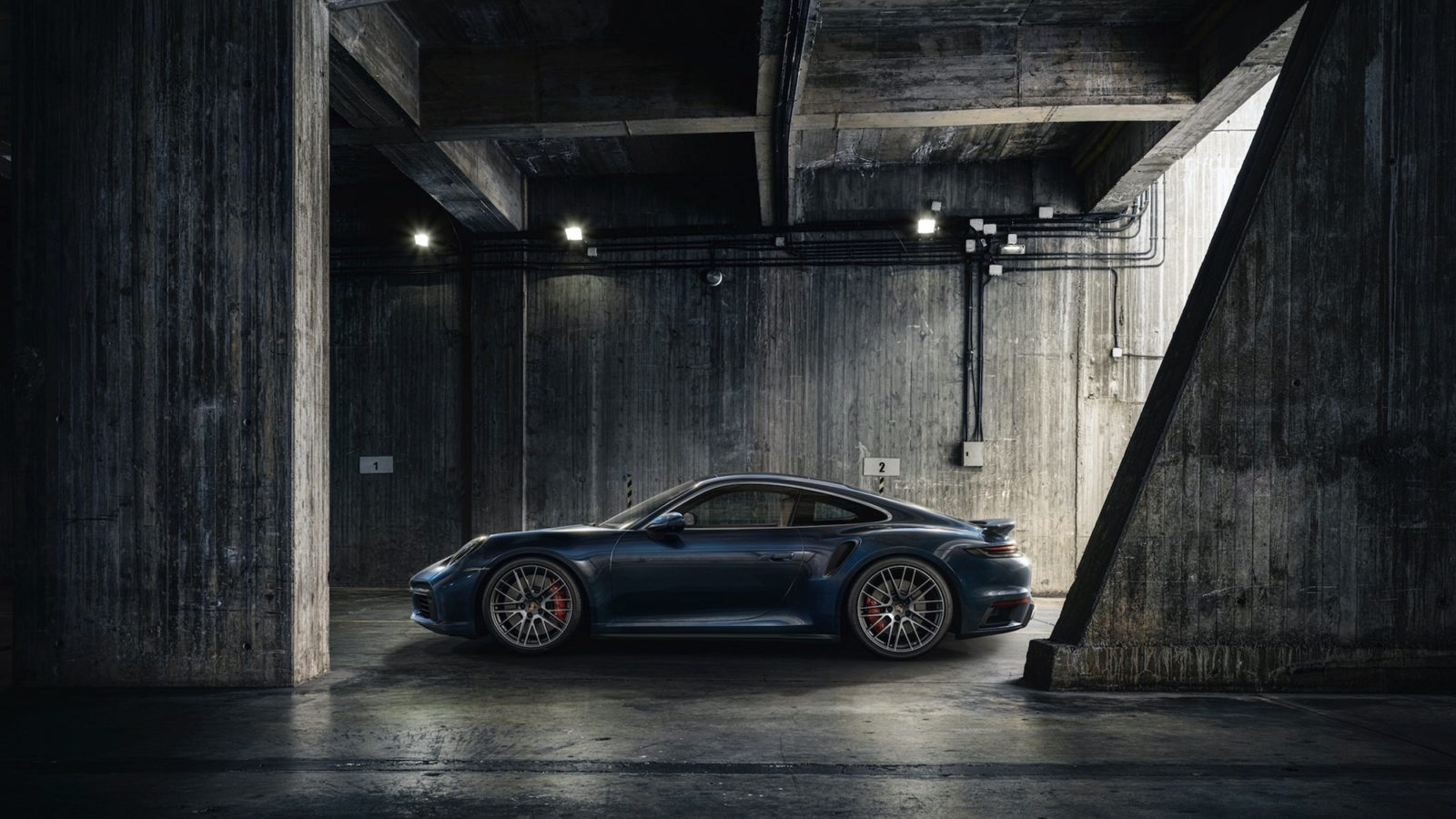 The new Porsche 911 Turbo will do 0-100kph in only 2.8 seconds