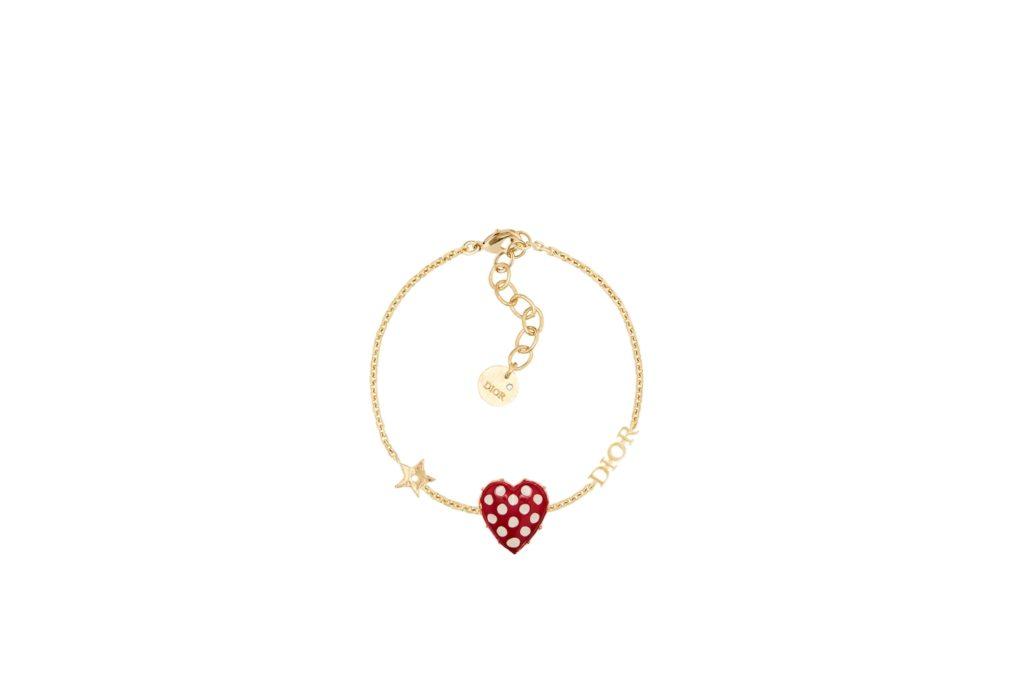 Dioramour Heart Dots Bracelet (S$800) (Photo credit: Dior)